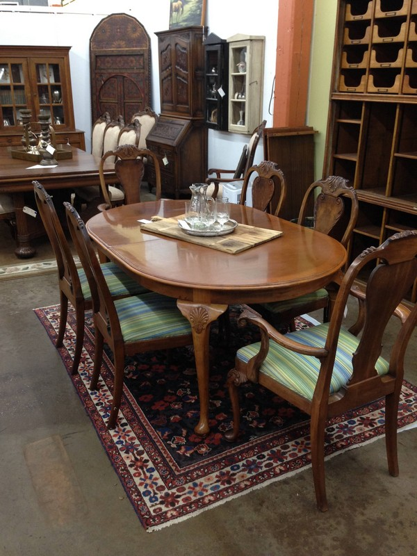 Antique Dining Room Table The, Antique Dining Room Table