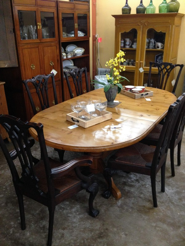 White Pine Dining Table