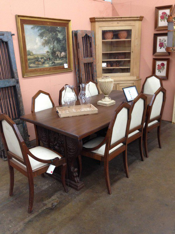 Set of 8 Art Deco Dining Chairs