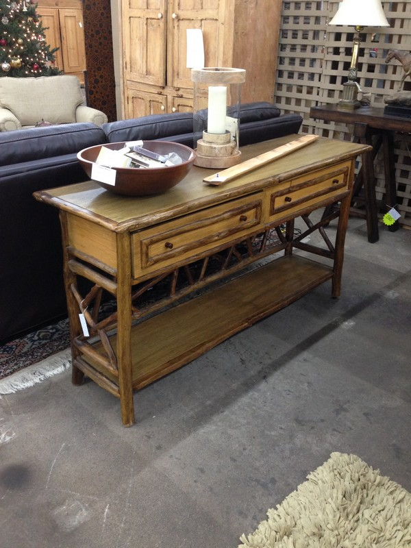 Pleasant Rustic Log And Wood Sofa Table Alphanode Cool Chair Designs And Ideas Alphanodeonline